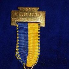 Medallas condecorativas: MEDALLA ALEMANA CONMEMORATIVA DR.HUGO ECKENER 1970. Lote 114717543