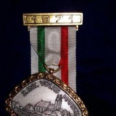 Medallas condecorativas: MEDALLA ALEMANA CONMEMORATIVA SV. SCHEPPACH 1971. Lote 114718239