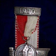 Medallas condecorativas: MEDALLA ALEMANA CONMEMORATIVA MUNDERKINGER VOLKS 1970. Lote 114719379