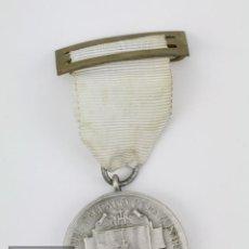 Medallas condecorativas: MEDALLA DEL COLEGIO SAGRADO CORAZÓN DE JESÚS, BARCELONA - PREMIO APROVECHAMIENTO - COLOR PLATEADO. Lote 114970147