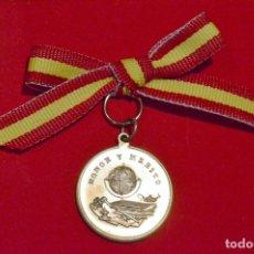 Medallas condecorativas: ANTIGUA MEDALLA ESCOLAR HONOR Y MERITO PREMIO A LA APLICACIÓN. Lote 48415117