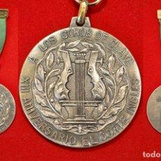 Medallas condecorativas: MEDALLA CORAL A LOS COROS DE CLAVE 1975 GIRONA EXCELENTE CONSERVACION. Lote 51490872