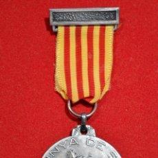 Medallas condecorativas: MEDALLA CORAL LA VINYA DE SANTS 1945 BARCELONA. Lote 52802260