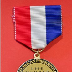 Medallas condecorativas: MEDALLA MERITO AMERICA USA REPUBLICAL PRESIDENTIAL NATIONAL CONVENTION 1992 ESTADOS UNIDOS. Lote 52929434
