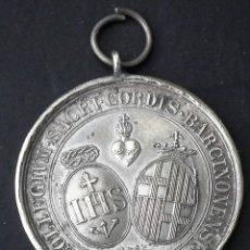 Medallas condecorativas: MEDALLA COLLEGIUM SACRI CORDIS BARCINONENSE SOC IESV. Lote 120079259