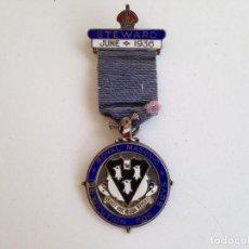 Medallas condecorativas: 1936 STEWARD ROYAL MASONIC INSTITUTION FOR BOYS MEDALLA MASON. Lote 120312275