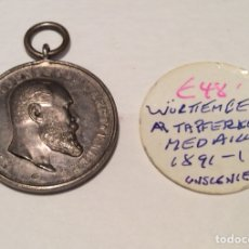 Medallas condecorativas: MEDALLA WURTEMBERG ALEMANIA PLATA. Lote 121557882
