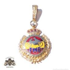 Medallas condecorativas: MEDALLA DE LA FEDERACIÓN ESPAÑOLA DE MOTOCICLISMO. Lote 127781983