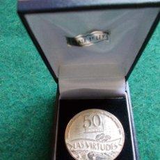 Medallas condecorativas: MEDALLA DE PLATA DE LA COPERATIVA AGRICOLA NUESTRA SEÑORA DE LAS VIRTUDES CONIL DE LA FRONTERA. Lote 131491826