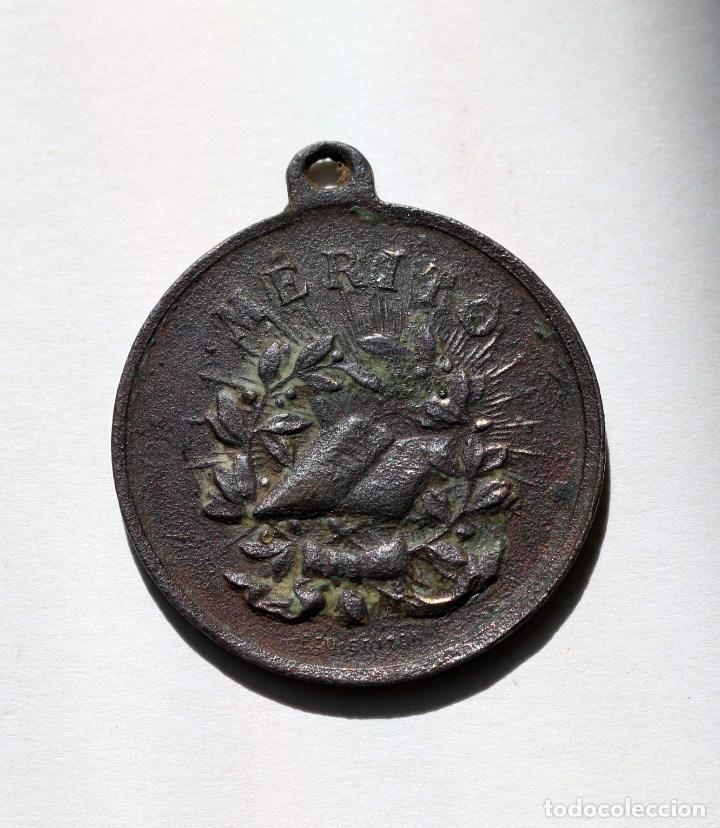 RARA MEDALLA AL MERITO / PREMIO A LA APLICACION (Numismática - Medallería - Condecoraciones)