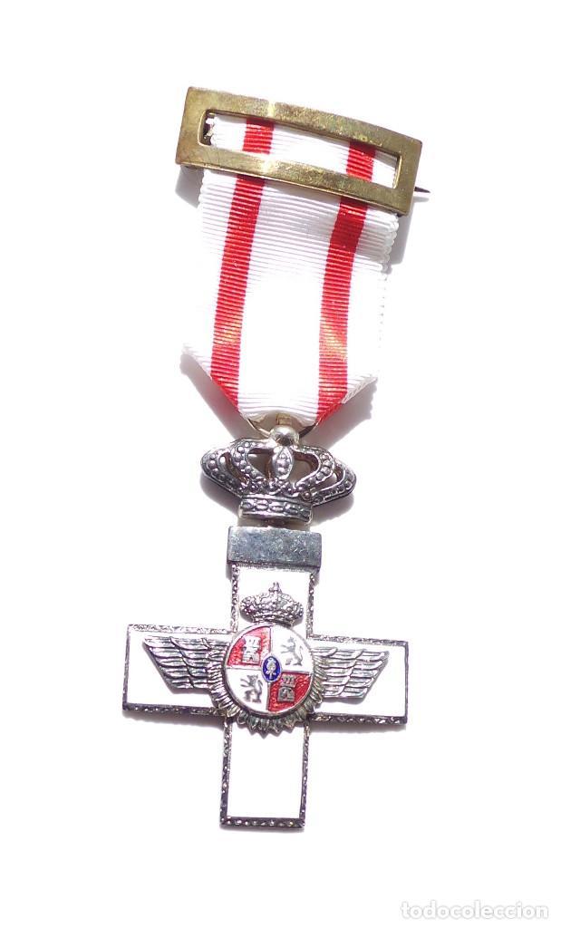Medallas condecorativas: MEDALLA MÉRITO AÉREO CON DISTINTIVO BLANCO - Foto 2 - 132956842