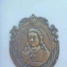 Medallas condecorativas: MEDALLON MINERVAE BETICAE . ACADEMIA DE LAS BUENAS LETRAS DE SEVILLA . PARECE PLATA (?). Lote 136657290