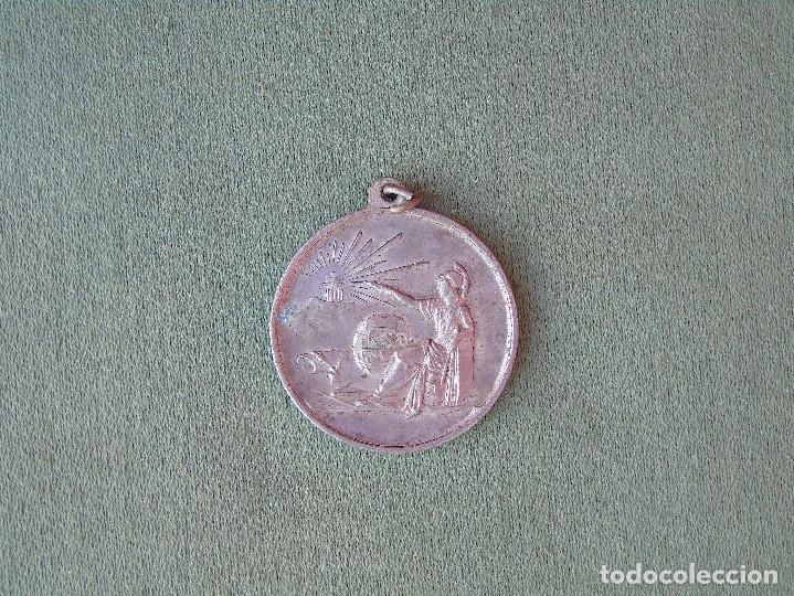 MEDALLA ESCOLAR. PREMIO A LA APLICACIÓN. (Numismática - Medallería - Condecoraciones)