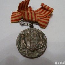 Medallas condecorativas: HOMENAJE DE LA SOLIDARIDAD CATALANA 1906. Lote 139827886
