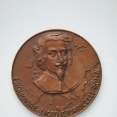 Medallas condecorativas: MEDALLA PROMOTORA LICEO, E. TORRICELLI ROMA 1960. Lote 141934285