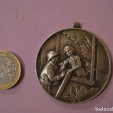 Medallas condecorativas: MEDALLA BOMBEROS SUIZA. SCHWEIZ. FEUERWEHR. PAUL KRAMER, NEUCHATEL.. Lote 145206658