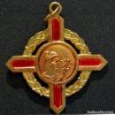 Medallas condecorativas: ANTIGUA MEDALLA EN LATÓN Y ESMALTES COLEGIO DE AGENTES COMERCIALES. Lote 79143553