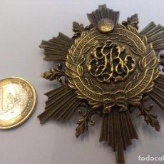 Medallas condecorativas: BROCHE: A LA LEALTAD ACRISOLADA. POR ISABEL LA CATÓLICA. Lote 147019370
