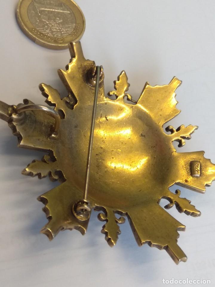 Medallas condecorativas: BROCHE: A LA LEALTAD ACRISOLADA. POR ISABEL LA CATÓLICA - Foto 5 - 147019370