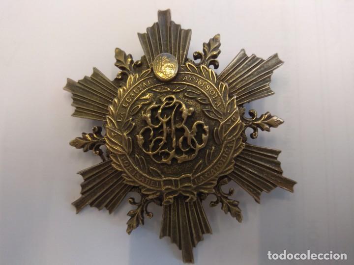 Medallas condecorativas: BROCHE: A LA LEALTAD ACRISOLADA. POR ISABEL LA CATÓLICA - Foto 6 - 147019370