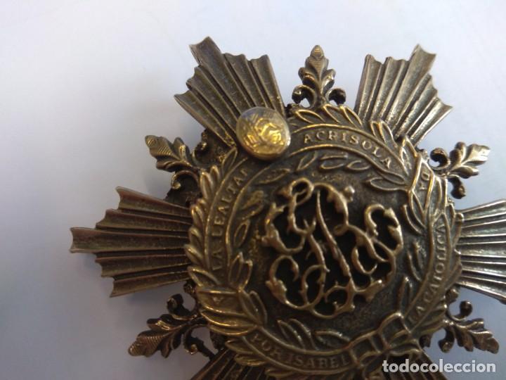 Medallas condecorativas: BROCHE: A LA LEALTAD ACRISOLADA. POR ISABEL LA CATÓLICA - Foto 7 - 147019370