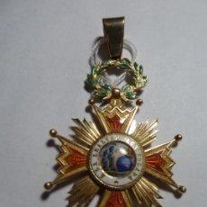 Medallas condecorativas: ORDEN ISABEL II ORO 18 QT 12,6 GR CUELLO. Lote 146661406