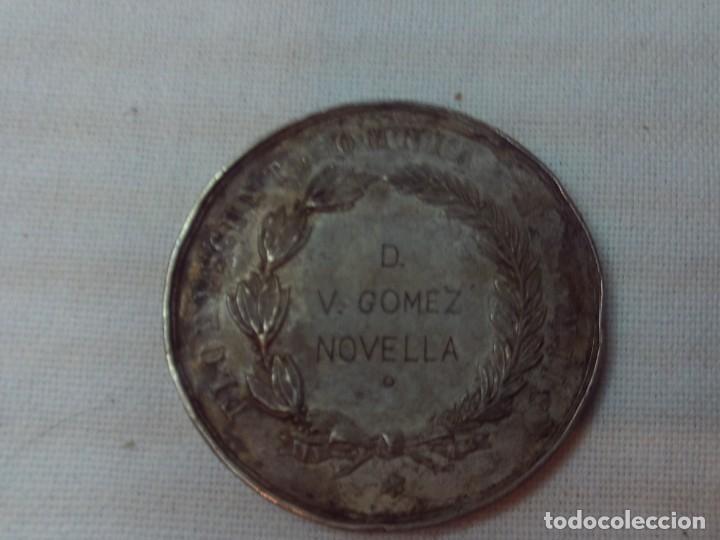 Medallas condecorativas: medalla plata sociedad economica de amigos del pais de valencia - Foto 2 - 147228134