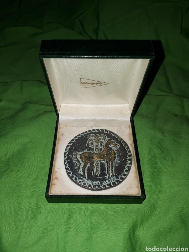 Medallas condecorativas: Única en todocoleccion MONEDA CONMEMORATIVA CARTAGENERO DEL AÑO TOMAS MARTINEZ PAGAN - Foto 2 - 147774329