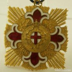 Medallas condecorativas: CONDECORACION CIVIL 1912-13 GENOVA EXPOSICION INTERNACIONAL. Lote 148030174