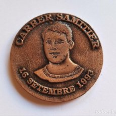 Medallas condecorativas: MONEDON MEDALLON 1993 MINCAR FORUM SAMITIER SPORT - 6.2.CM DIAMETRO UNICA!!!. Lote 152673630