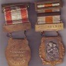 Medallas condecorativas: VILLAFRANCA DE LOS BARROS MEDALLA APROVECHAMIENTO PRIMER PREMIO CURSO 1944-1945. Lote 149721650