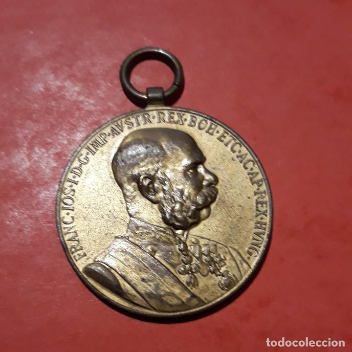 MEDALLA IMPERIO AUSTROHÚNGARO 3 (Numismática - Medallería - Condecoraciones)