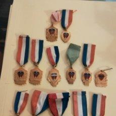 Medallas condecorativas: MEDALLAS COLEGIO LA SALLE LA HABANA AÑOS 50. Lote 150164518