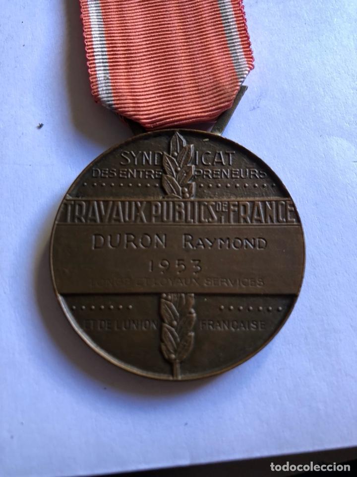 Medallas condecorativas: Lote de 6 medallas francesas con sus cajas - Foto 2 - 153659948