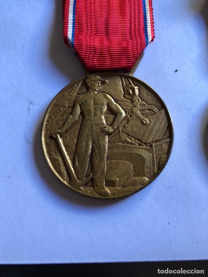 Medallas condecorativas: Lote de 6 medallas francesas con sus cajas - Foto 5 - 153659948