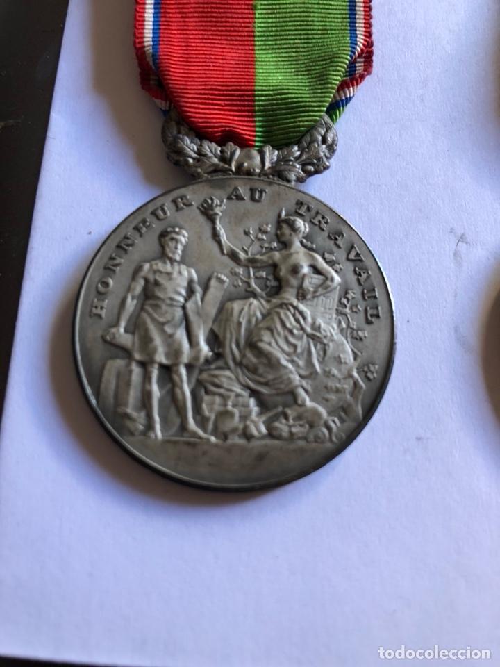 Medallas condecorativas: Lote de 6 medallas francesas con sus cajas - Foto 6 - 153659948