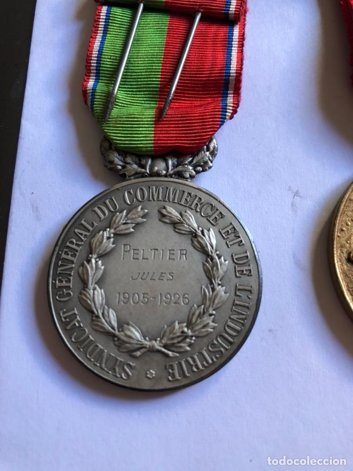 Medallas condecorativas: Lote de 6 medallas francesas con sus cajas - Foto 7 - 153659948