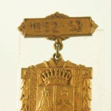 Medallas condecorativas: CONDECORACION DE COLEGIO 1952 NUESTRA SEÑORA DE BONANOVA BARCELONA ESCOLAR. Lote 153931438