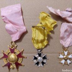 Medallas condecorativas: RD- LOTE DE SIETE MEDALLAS ESCOLARES DIVERSAS. INTERESANTE LOTE.. Lote 153961561