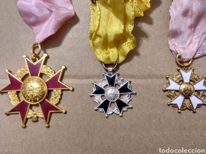 Medallas condecorativas: RD- LOTE DE SIETE MEDALLAS ESCOLARES DIVERSAS. INTERESANTE LOTE. - Foto 2 - 153961561