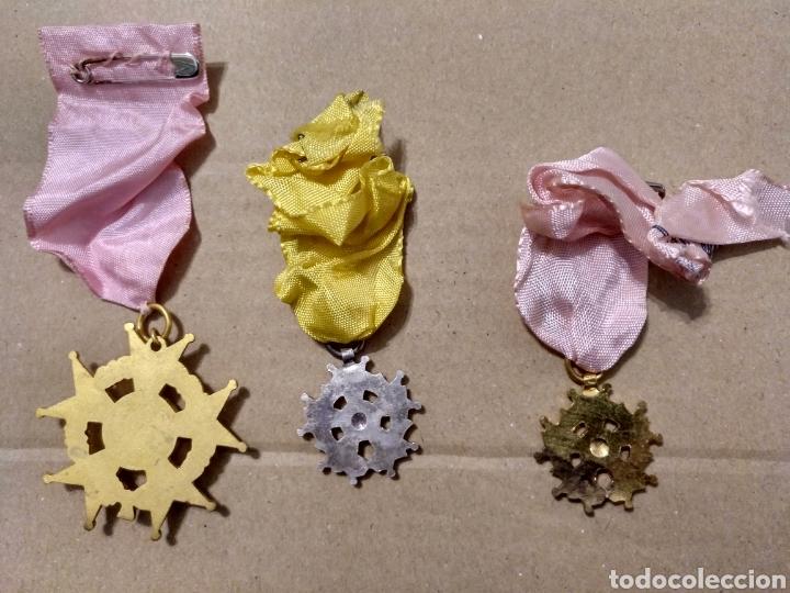 Medallas condecorativas: RD- LOTE DE SIETE MEDALLAS ESCOLARES DIVERSAS. INTERESANTE LOTE. - Foto 3 - 153961561