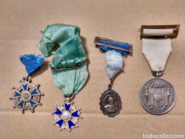 Medallas condecorativas: RD- LOTE DE SIETE MEDALLAS ESCOLARES DIVERSAS. INTERESANTE LOTE. - Foto 4 - 153961561