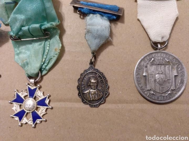 Medallas condecorativas: RD- LOTE DE SIETE MEDALLAS ESCOLARES DIVERSAS. INTERESANTE LOTE. - Foto 5 - 153961561
