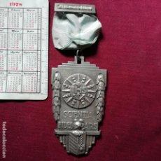 Medallas condecorativas: MEDALLA COLEGIAL DE TAMAÑO GRANDE. SCIENTIA FIDES ARS. Lote 155622242