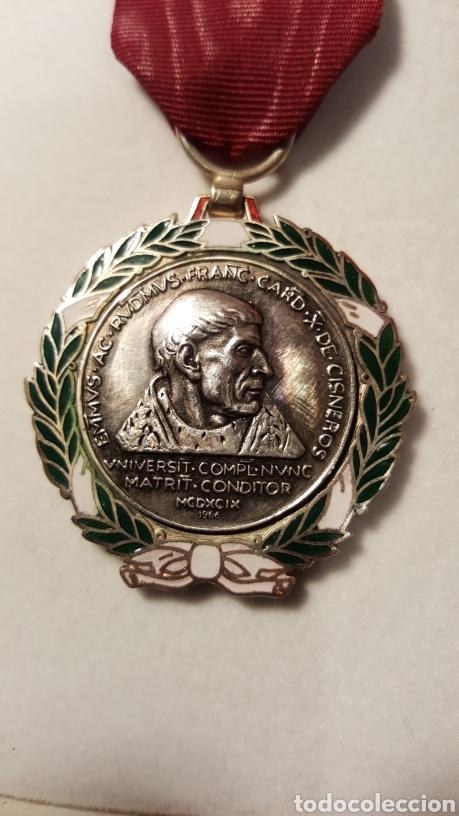 Medallas condecorativas: MEDALLA DEL CARDENAL CISNEROS FIRMADA COMENDADOR - Foto 3 - 156534358