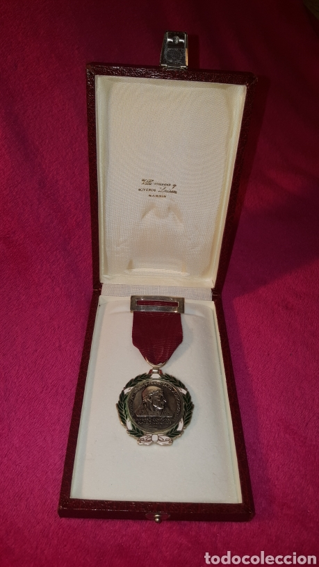 Medallas condecorativas: MEDALLA DEL CARDENAL CISNEROS FIRMADA COMENDADOR - Foto 8 - 156534358