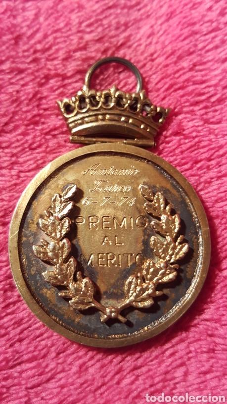 Medallas condecorativas: PREMIO AL MÉRITO A ANTONIO ZARCO. 1974. - Foto 3 - 156541821