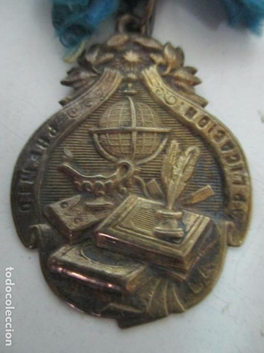 MEDALLA DE LATÓN - PREMIO A LA APLICACIÓN (Numismatik - Medaillen - Auszeichnungen)
