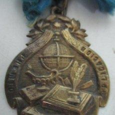 Medallas condecorativas: MEDALLA DE LATÓN - PREMIO A LA APLICACIÓN. Lote 156813590