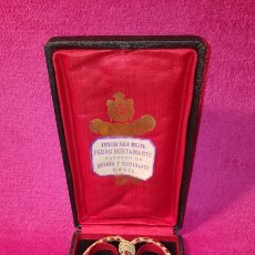 Medallas condecorativas: MEDALLA DE LA REAL ACADEMIA HISPANO AMERICANA. Lote 157854806